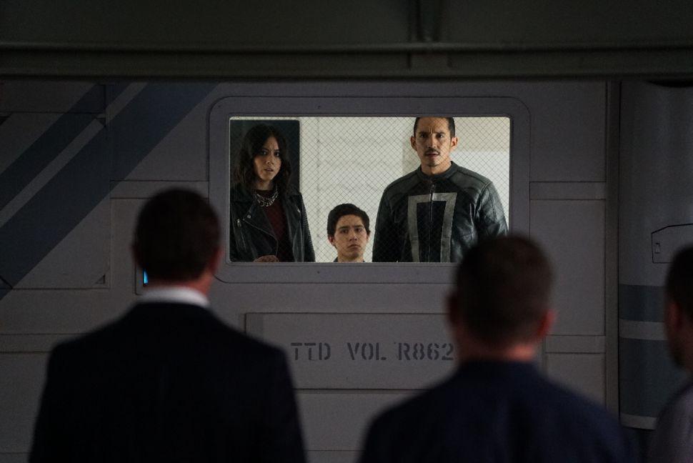 Chloe Bennet, Lorenzo James Henrie and Gabriel Luna.