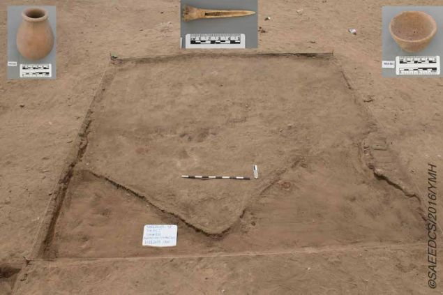 The discovery of various tools and homes have enabled the dig team to conclude it's a residential city.