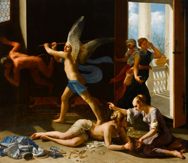 Guido Cagnacci's The Repentant Magdalene.