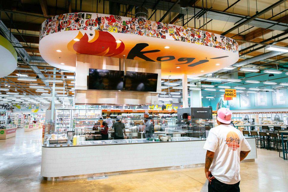 Roy Choi has opened Kogi Taqueria at the Whole Foods in El Segundo.