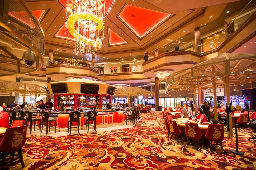 Lucky Dragon's 27,500-square-foot casino floor focuses on Asian gaming.