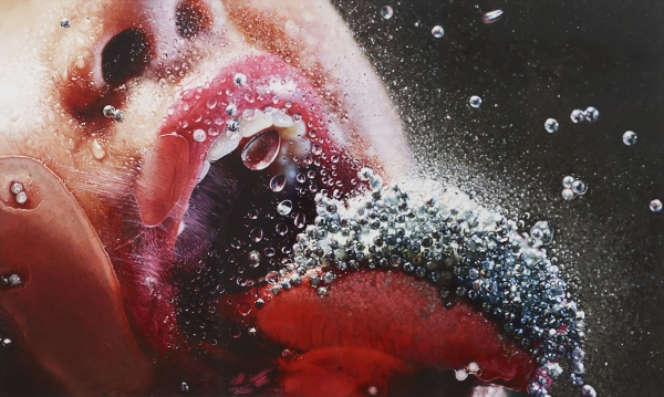 Marilyn Minter, Pop Rocks, 2009.