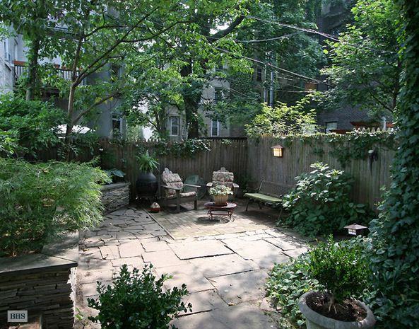 Brooklyn outdoor space.