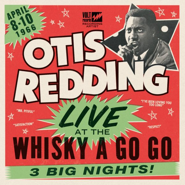 Otis Redding's legendary concert at the Whiskey A Go Go from 1966 gets the special edition treatment for Black Friday.