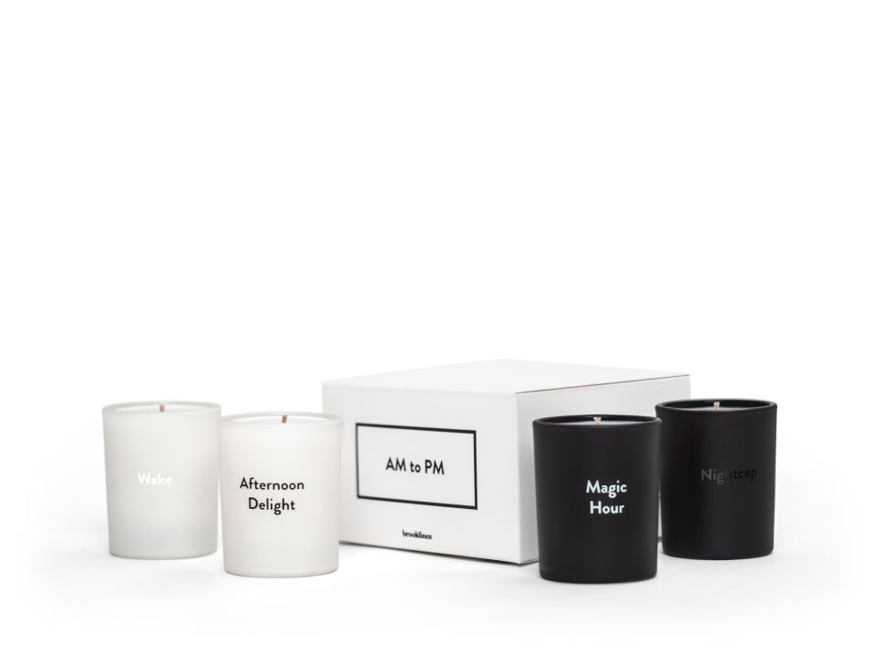 Brooklinen's candle set