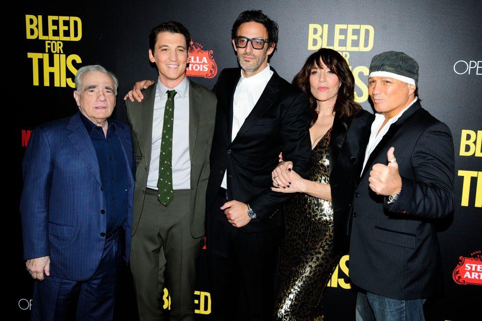 Martin Scorsese, Miles Teller, Ben Younger, Katey Sagal, Vinny Paz=