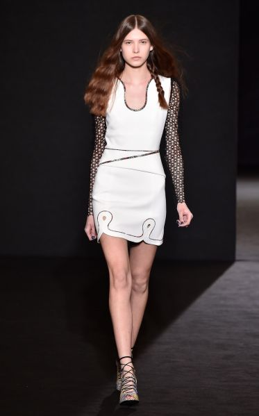 A Roland Mouret look that will be available at Orchard Mile.