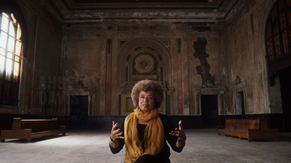 Angela Davis in 13th.