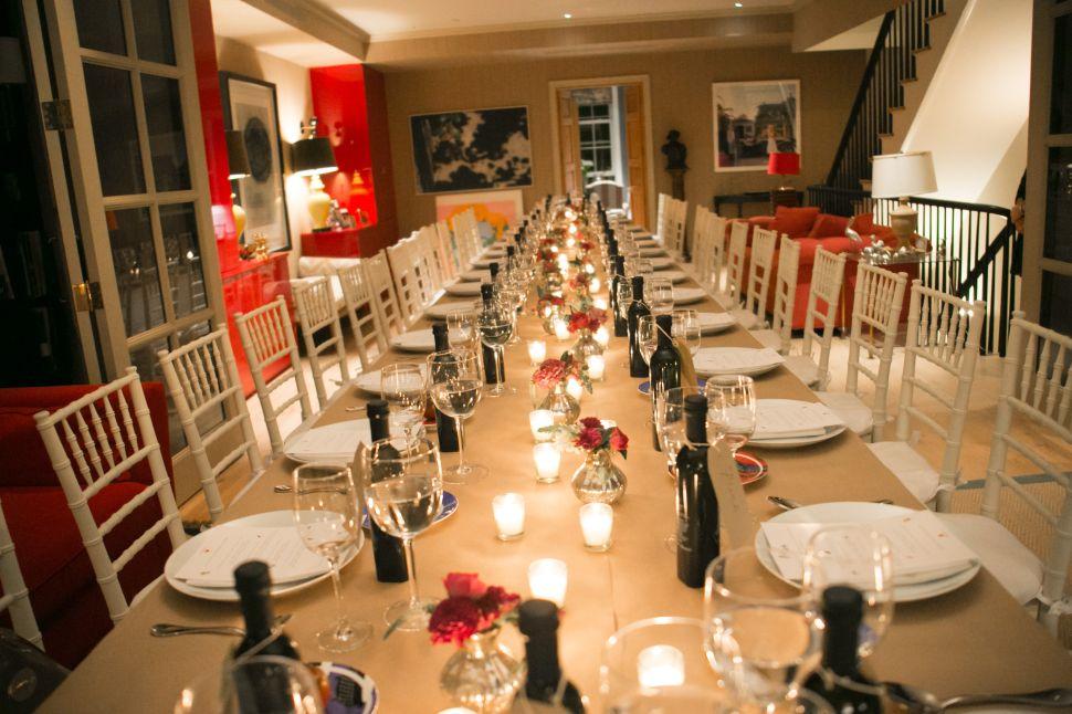 The von Bismarck dining room