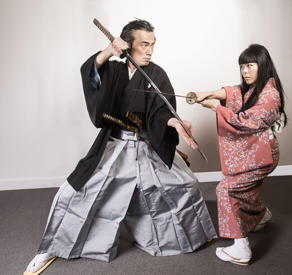 Yoshi Amao and Saori