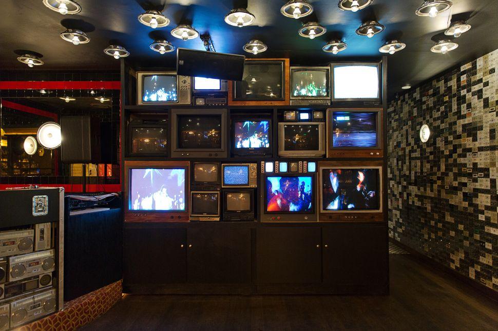 Break Room 86 is a time-machine dream of a bar.