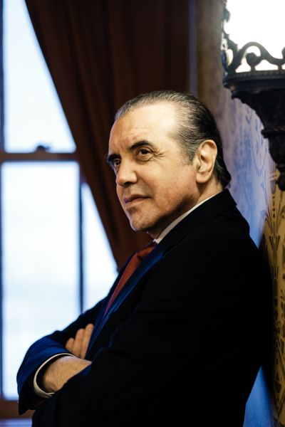 Chazz Palminteri.at the Longacre Theatre in New York City.