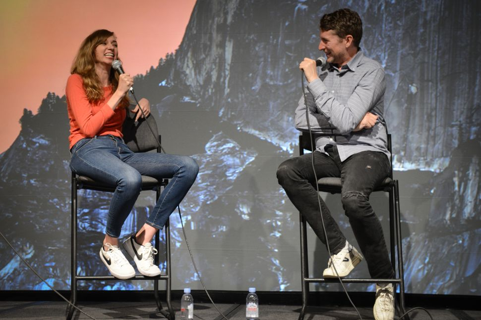 Lauren Lapkus and Scott Aukerman shared the Stitcher Stage for a live performance of Comedy Bang! Bang!.