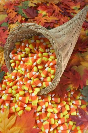 Wrapped candy is preferred but if all you have left is candy corn I'll take it.