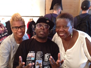 Deisha Head Taylor, Phife Dawg and his mother Cheryl Boyce-Taylor.
