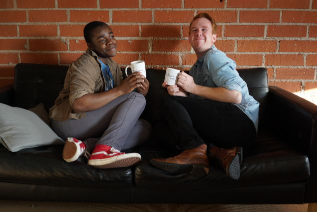 Demi Adejuyigbe and Kevin T. Porter, the 'Gilmore Guys.'