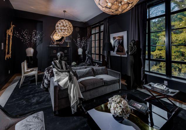Brandon Maxwell and Ryan Korban's room.