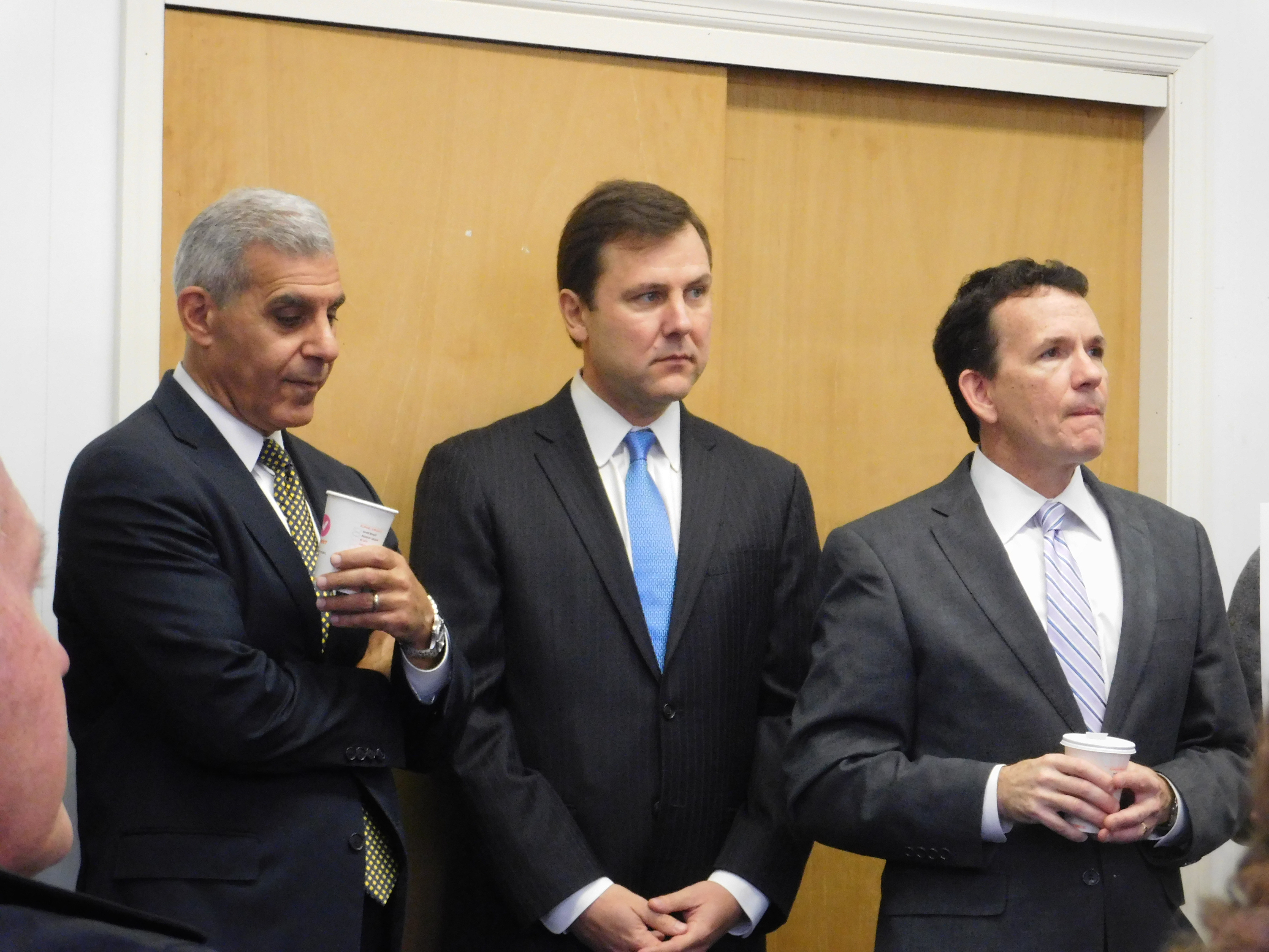 From left: Kyrillos, Kean and O'Scanlon.