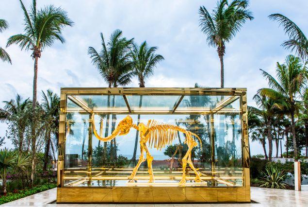 Faena Hotel's mammoth (get it?) sculpture.