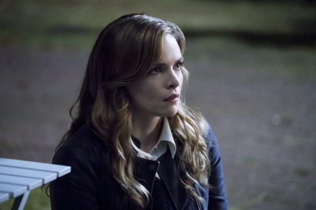 Danielle Panabaker as Caitlin Snow.