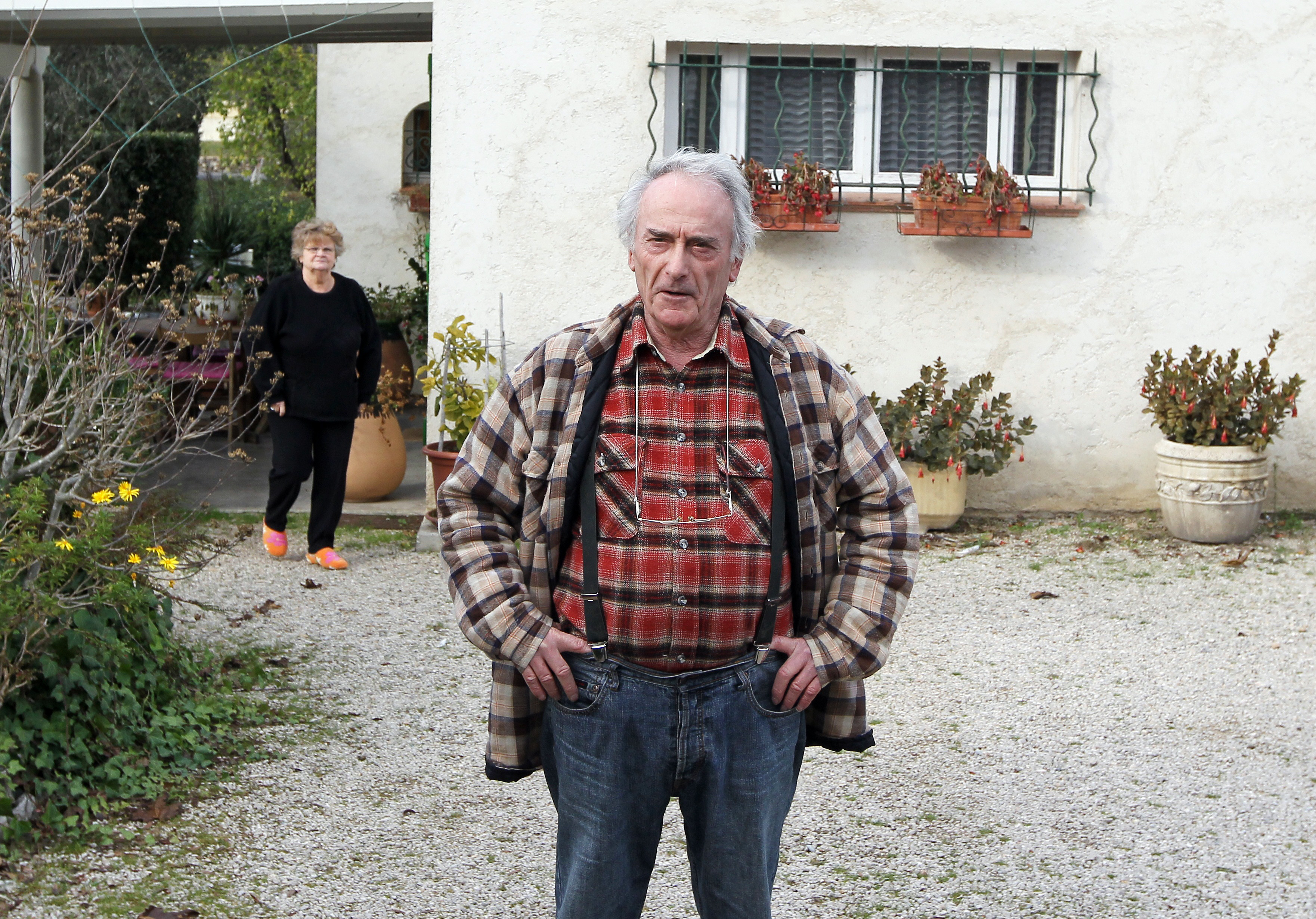 Retired electrician Pierre Le Guennec harbored a collection of 271 works by Pablo Picasso, the French newspaper Liberation reported today. Picasso's heir, Claude Picasso, who filled a complaint, dismissed Le Guennec's claim that he could have received the paintings as gifts, telling Liberation that his father would not have given such a quantity of works to anyone, after Le Guennec told he had been given the works as presents, either by Picasso's wife or from the artist himself. AFP PHOTO VALERY HACHE (Photo credit should read )