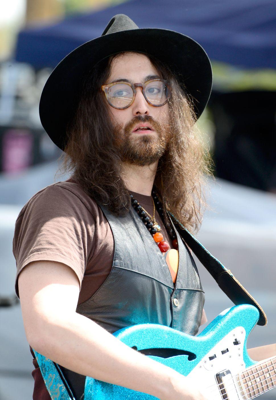 Sean Ono Lennon.