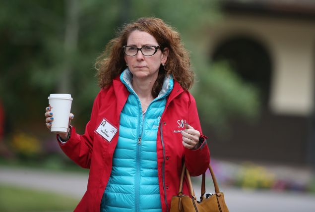 Eva Sarah Moskowitz, founder and CEO of Success Academy Charter Schools, attends the Allen & Company Sun Valley Conference on July 9, 2015 in Sun Valley, Idaho.