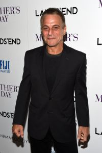 """Tony Danza at the Cinema Society's screening of """"Mother's Day"""" on April 28, 2016"""