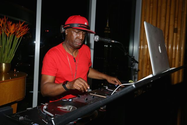Hip hop artist Grandmaster Flash