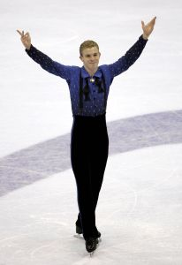 Timothy Goebel won the Olympic bronze medal in 2006.