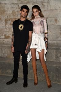 Gigi Hadid and Zayn Malik are often photographed leaving 10 Bond.