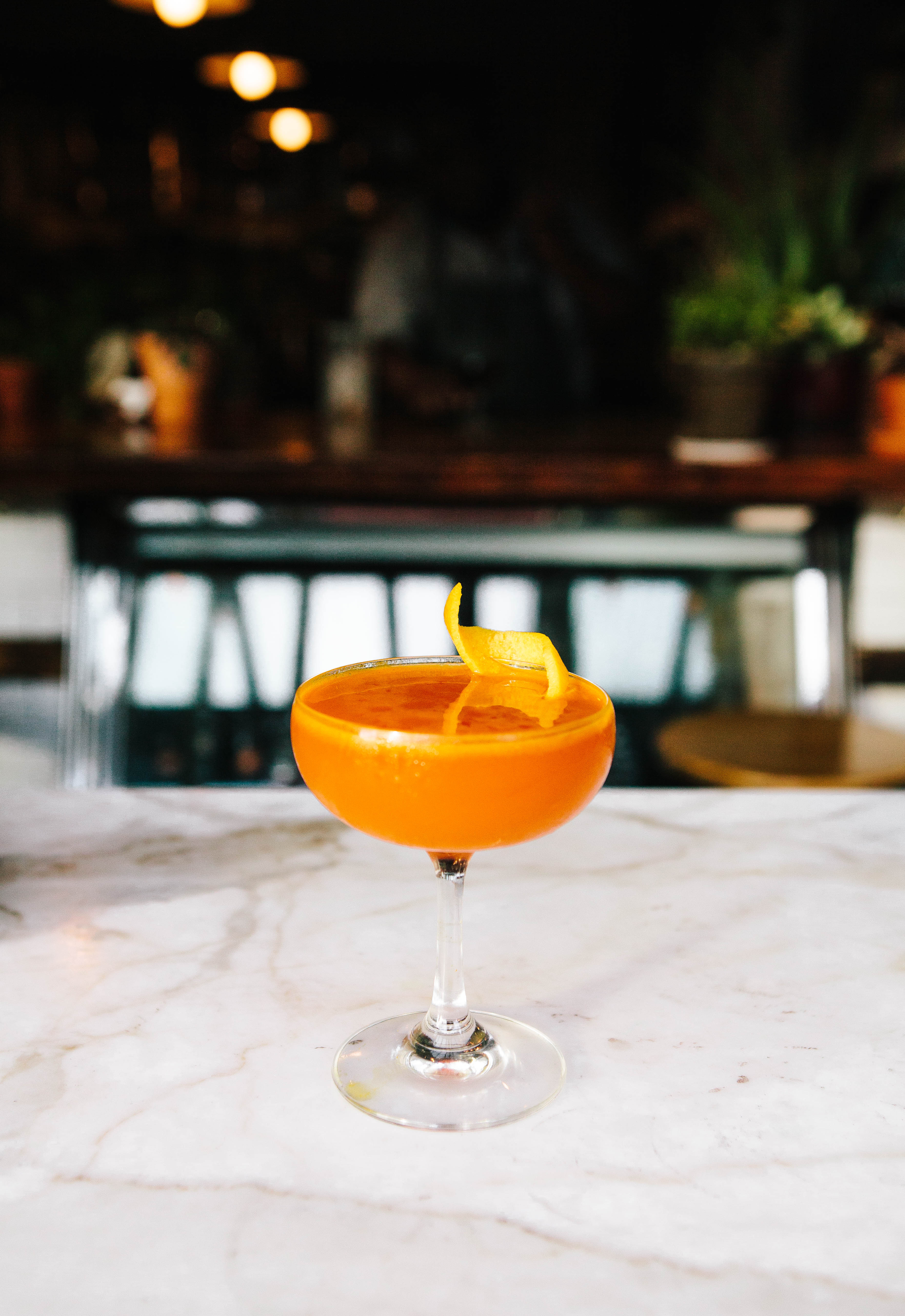The Golden Shrub, from The Wild Son's low-abv cocktail program.
