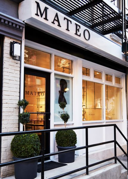 Mateo New York opens its new store on Elizabeth Street.