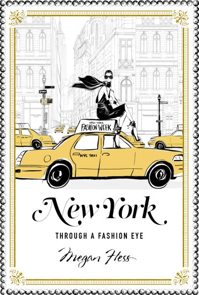 The cover of 'New York Through a Fashion Eye.'
