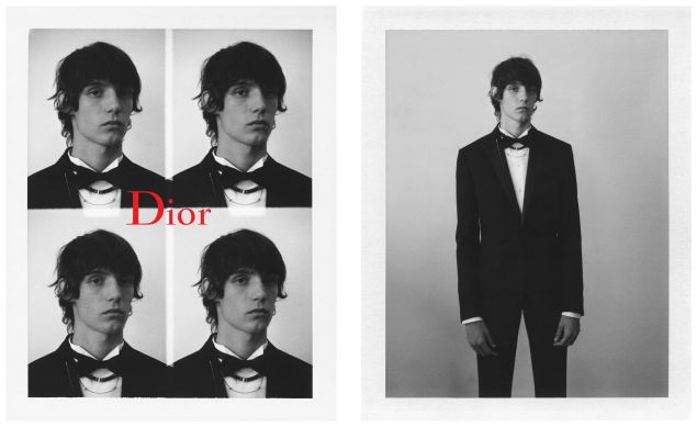 Dior Homme's Black Carpet collection.