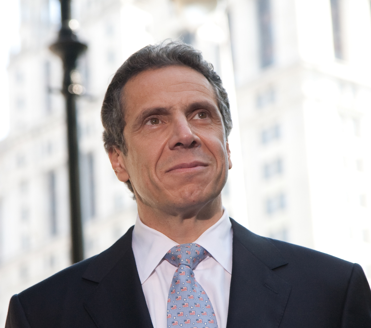 New York's governor, Andrew Cuomo.