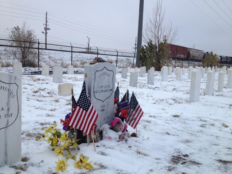 Soule's grave.