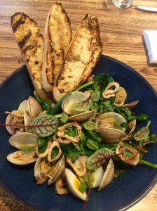 You can eat steamed clams near UCLA on Thanksgiving.