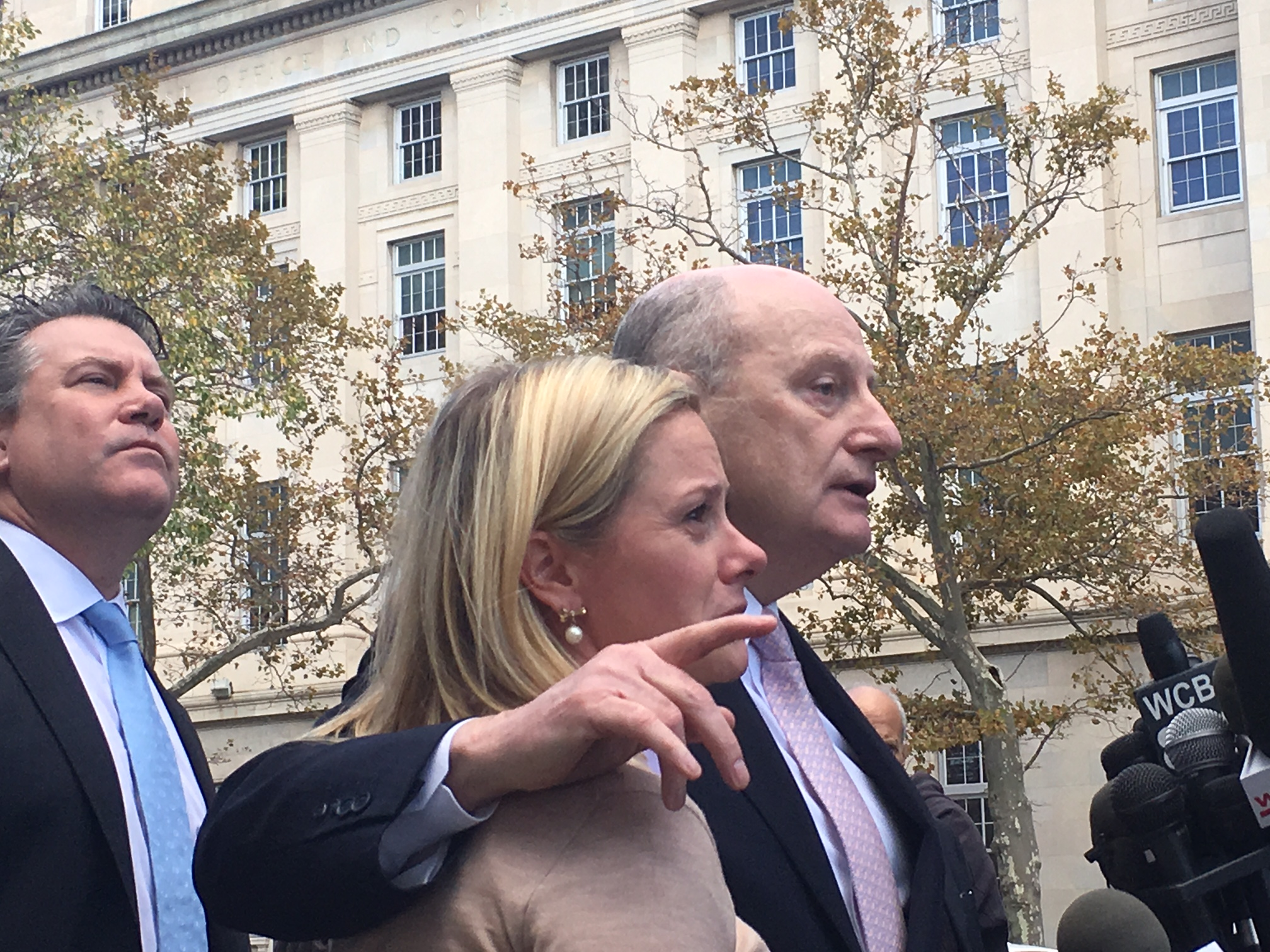 Kelly was visibly emotional following the guilty verdict in the Bridgegate case.
