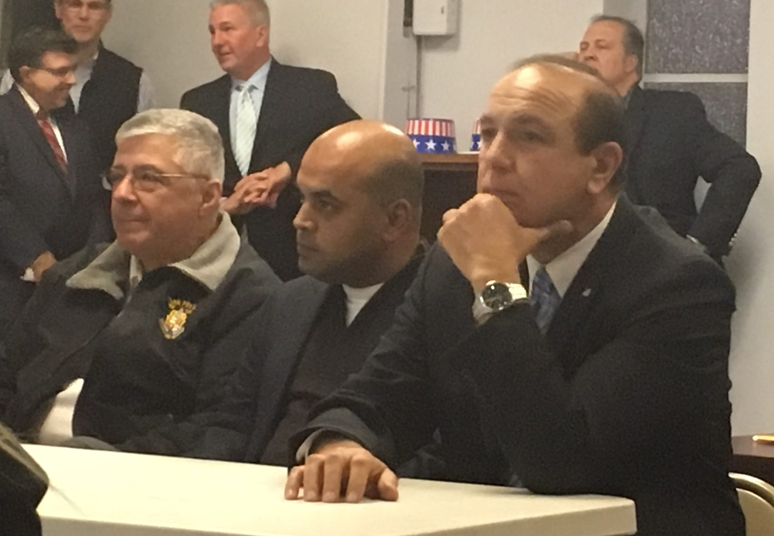 From left: Sette, Barlas and DiGaetano.