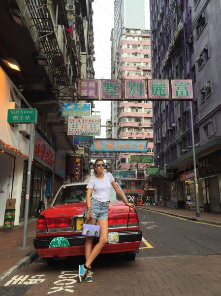 Les Petits Joueurs' Maria Sole Cecchi in Hong Kong.