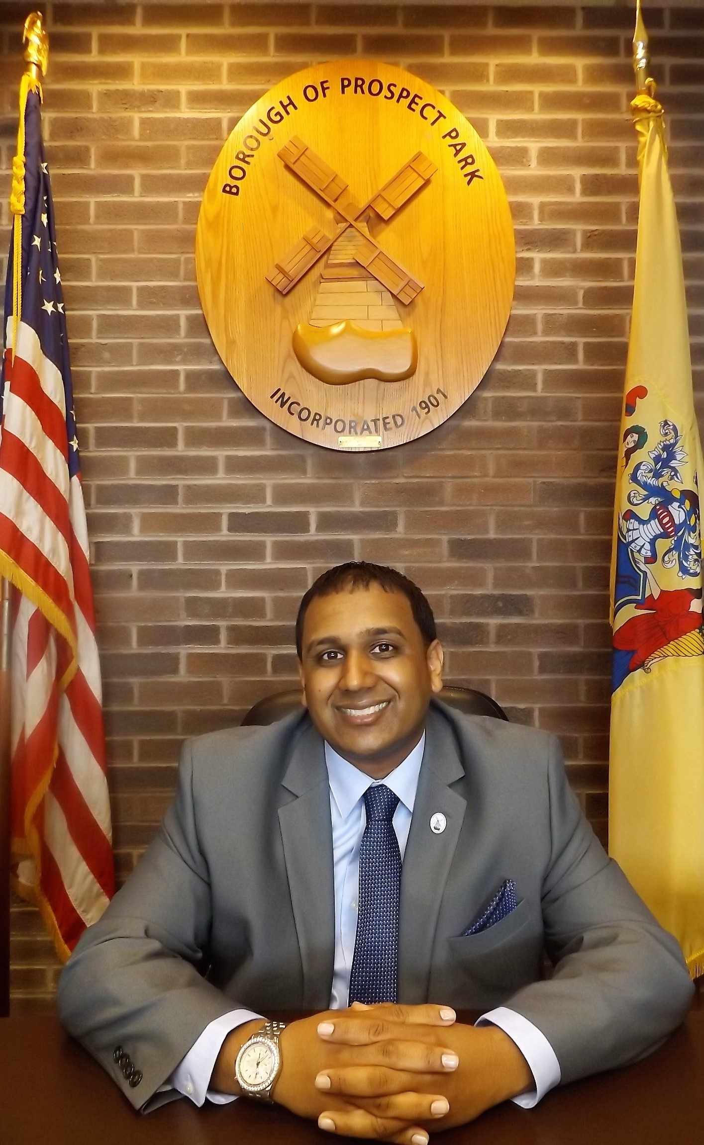 Anand Shah was recently elected in Prospect Park, NJ.