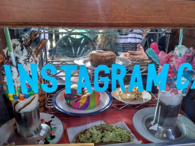 #InstragramCafe, from Jason Eppink and Larissa Haiden.