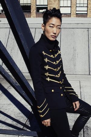 Jihae actress, musician, model photo: Celeste Sloman/ NY Observer