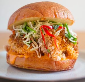 Taiwanese chicken sandwich, an add-on dish