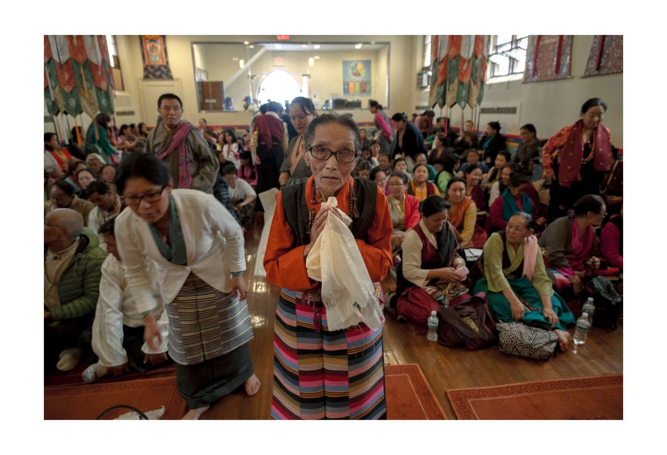 Every Sunday dozens of Sherpas gather at United Sherpa Association for the practice of Buddhism.