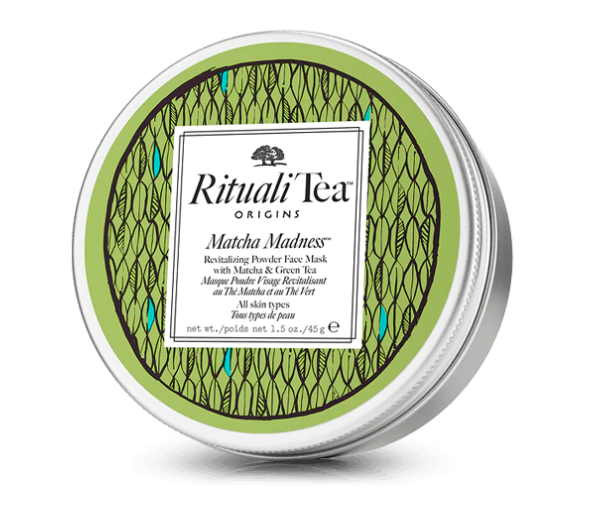 ORIGINS, RitualiTea Matcha Madness Revitalizing Powder Face Mask