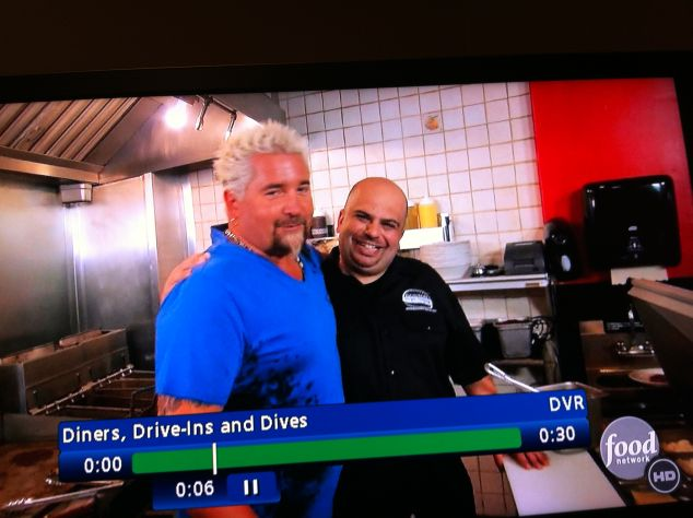 Co-founder and owner Paul Malvone on Diners, Drive-Ins and Dives.