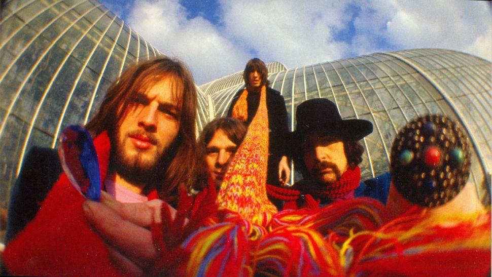 Pink Floyd in 1968.
