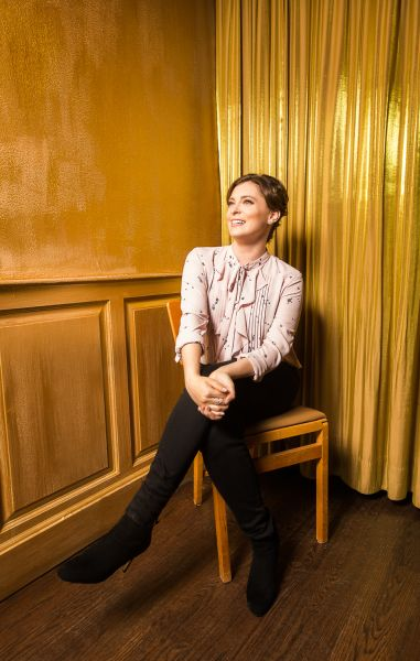 Rachel Bloom; Shot on location at Sid Gold's Request Room